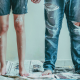 A couple is holding hands and renovating an apartment | Interior blogs to follow in 2021