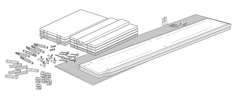 Disassembly instructions from IKEA, step 7