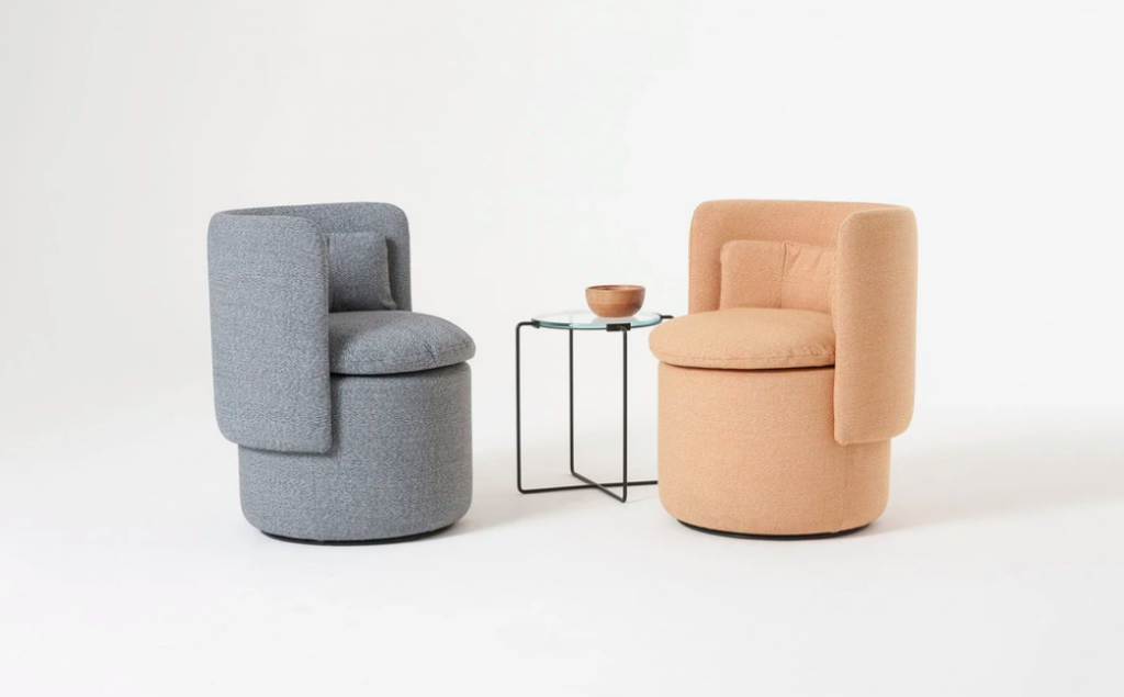 Group cocktail chairs in the interior | Fresh decor finds in May 2021