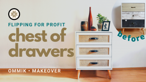 Chest of drawers makeover Youtube Thumbnail