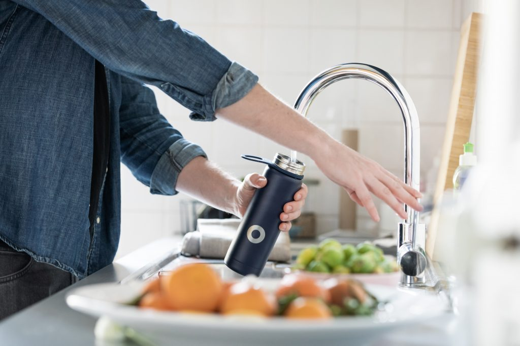 Reusable water bottle | Sustainable living