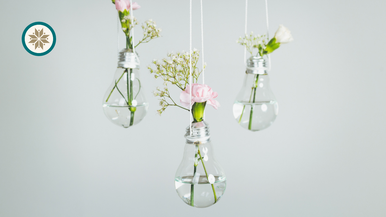 Upcycled old lightbulbs | DIY Youtube channels